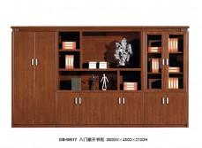 实木书柜YB-005