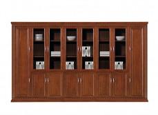 实木书柜YB-004