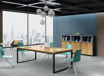 简约时尚会议桌YB-014