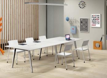 简约时尚会议桌YB-003