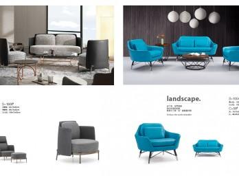 时尚休闲沙发YB-001