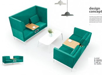 时尚休闲沙发YB-007