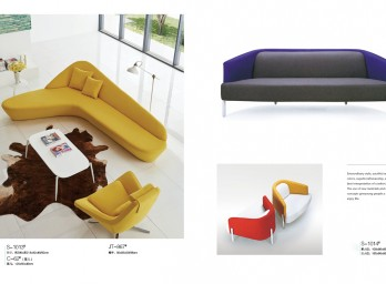 时尚休闲沙发YB-012