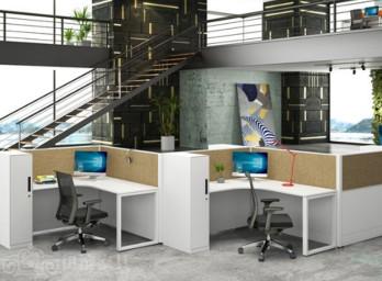 职员屏风办公桌YB-004