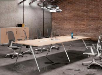简约时尚会议桌YB-006